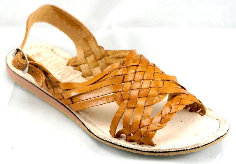 87305f4209b472 Womens Mexican Handmade Leather Huaraches Sandals Sandalias