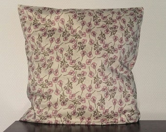 Liberty floral cushion