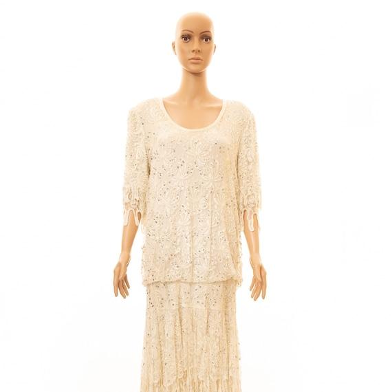 Vintage Judith Ann Creations Flapper-Style Dress