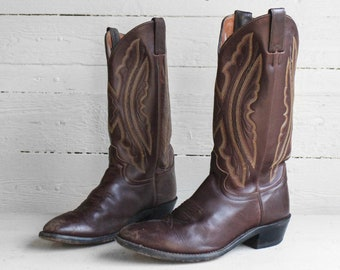 0edefcf8ad8 Western boots 9 ee   Etsy