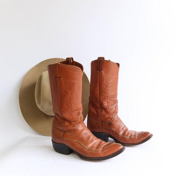 Vintage Tony Lama Western Boots 1960's Cowboy Boot