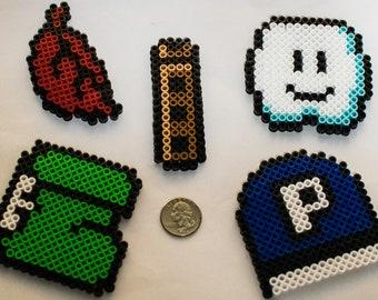 Super Mario Bros. 3 Power-up magnet set of five