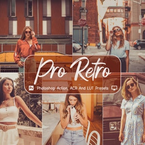 Colorful Seasons 10 Pro Family Photoshop Actions Warm Outdoor Easy to use ACR LUT Presets Instagram Blogger Moody Lifestyle