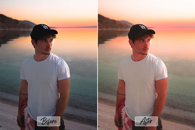 10 Pro Emotional Photoshop Actions, ACR, LUT Presets