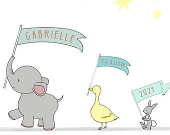 Illustration Children's Room - Animals