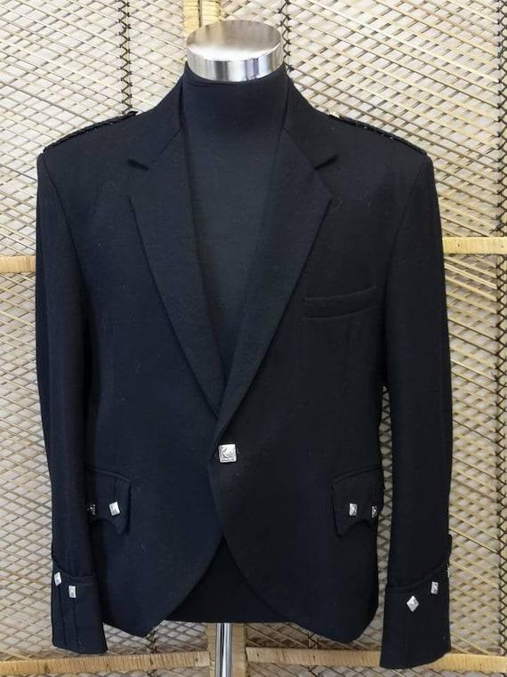 Traditional Scottish Prince Charlie Kilt Jacket