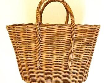 Straw Handbag Etsy
