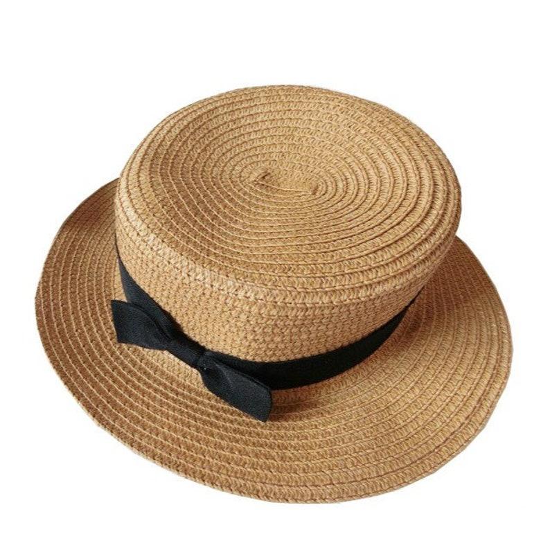 ef09cee287dd2 Handcrafted Straw Hat Bali Beach Hat Straw Boater Hat