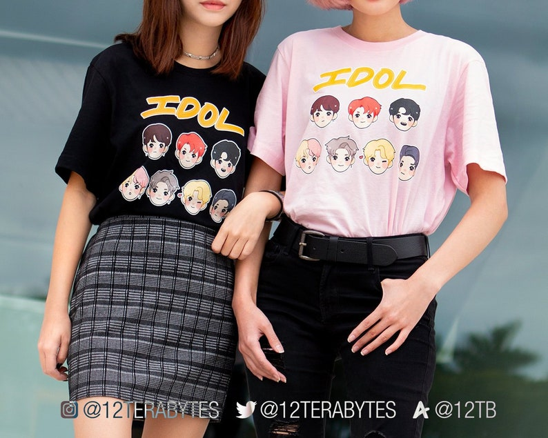 Tops & Tees Search For Flights New Bts Korean Popular Bts Short Sleeve Tee Shirts Bangtan Boys Idol Team Fashion Tshirt Women Cotton Casual Kpop Cotton T-shirt Buy Now Women's Clothing