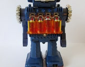HS Horikawa boxed piston action engine robot, Japan, 1969 in excellent not-working condition.