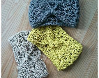 Crochet Pattern Only - Caitlin Headband