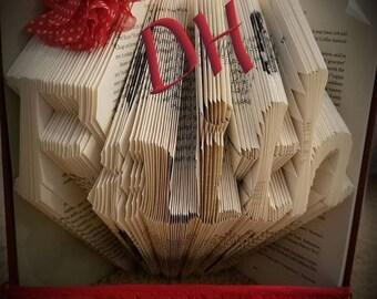 Faith Folded Book Art
