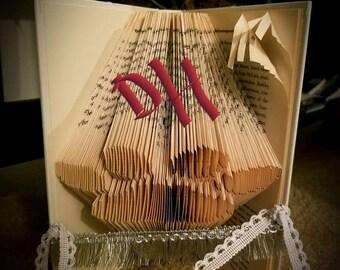 Pet Paw Folded Book Art