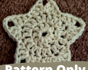 Simple Star Motif || PATTERN ONLY