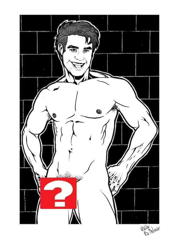 Nude boy public