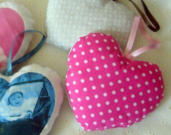Tuto couture Coeur déco à suspendre, bébé, enfant, cadeau