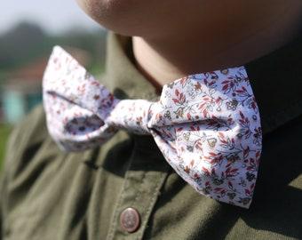 Patron Noeud papillon Enfant en coton Liberty, couture facile, printemps été cérémonie