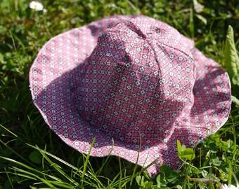 Patron couture chapeau léger enfant, couture facile, printemps, été, vacances