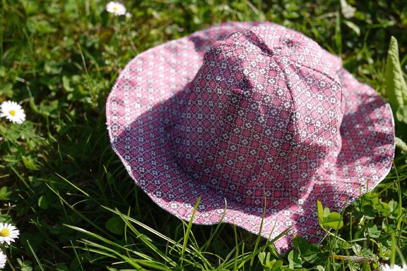 Patron couture chapeau léger enfant couture facile image 0