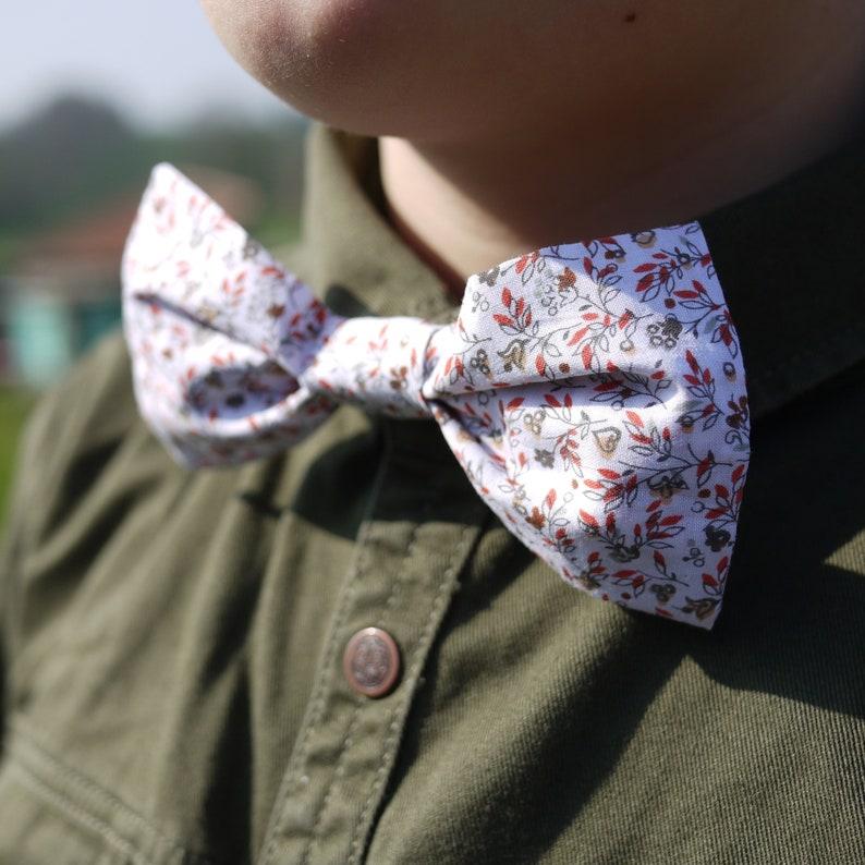 Patron Noeud papillon Enfant en coton Liberty couture facile image 0