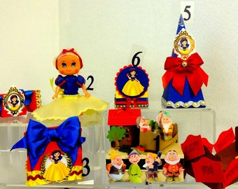 Snow White Party Decorations Etsy