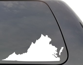 """Macbook ect. West Virginia State Pride Chrome 5/"""" Vinyl Decal for Car"""
