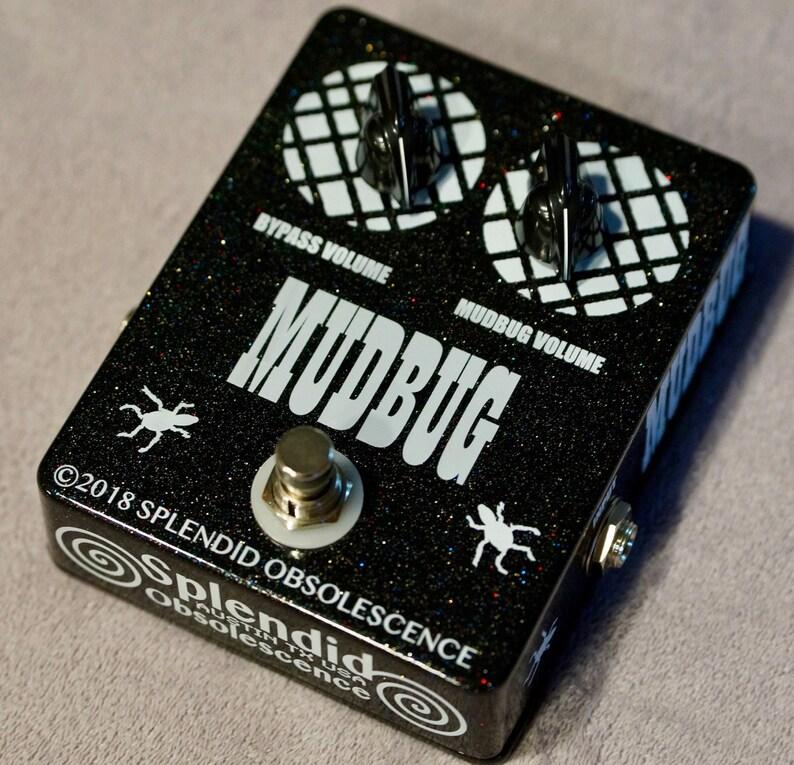 MUDBUG Tone Darkening Guitar Effect Pedal Hand Built by image 0