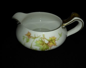 "Haviland Autumn Leaf China 5"" Creamer"