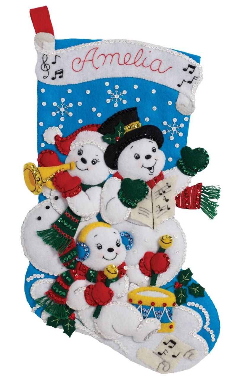 Snowman Family18 Finished