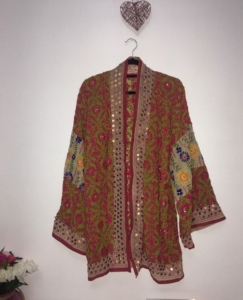 \u03b1m\u03b1z\u00edng t\u0454chn\u00edc\u03c3l\u03c3r Dreams Hand Embroidered Jacket Meadow
