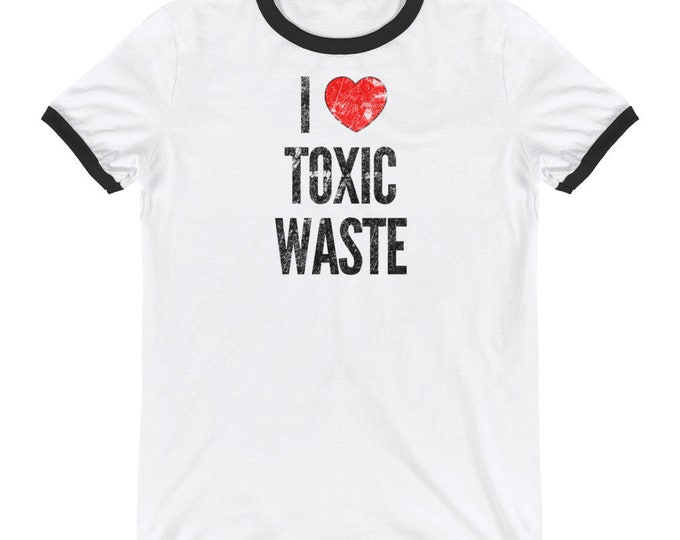 I Love Toxic Waste Chris Knight Real Genius Movie | I Heart Toxic Waste T-Shirt