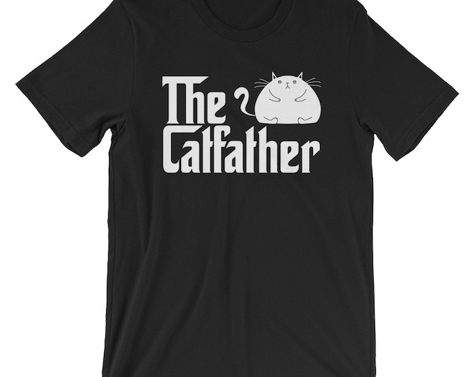 Funny Cat Dad Shirt, Cat Lover Shirt, Cat Father T-Shirt, The Catfather, Cat Dad, Funny Cat Shirt