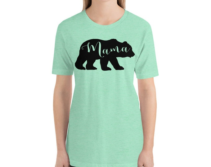 Mama Bear Funny Shirt, Gift for Mom, Gift for Her, Mama Shirt, Mom Life Shirt, Bear Shirt