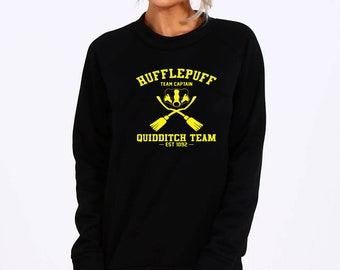 Hufflepuff Quidditch, Quidditch Sweatshirt, Harry Potter, Lord Voldemort, Ministry of Magic, Potter Sweatshirt, Harry Potter Shirt, Hermione