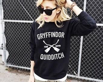 Gryffindor Quidditch, Quidditch Sweatshirt, Quidditch Crewneck, Hogwarts Sweatshirt, Lord Voldemort, Quidditch Gryffindor, Harry Potter Tee