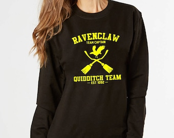 Quidditch Sweatshirt, Ravenclaw Quidditch, Ravenclaw Sweatshirt, Harry Potter, Lord Voldemort, Ministry of Magic, Potter Sweatshirt