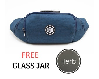Lockable Smell Proof Fanny Pack - Smell Proof Sling Bag - Stash Box - Waist Bag - Weed bag - Cannabis Storage - Gift for Him - Gift for Her