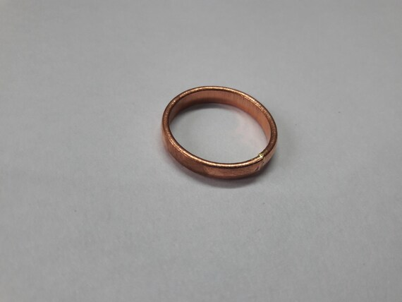 Energized Solid Copper Band Ring Adjustable Size For Man /& Women Plan Design #03