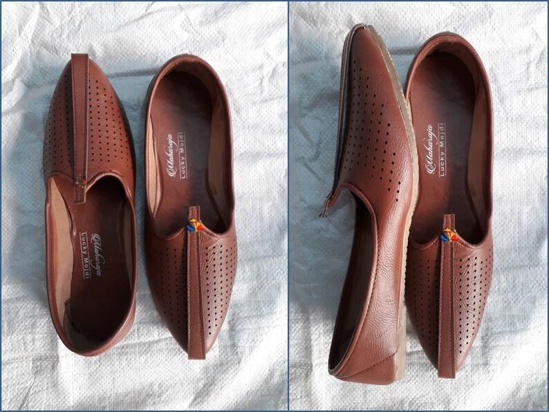 Indian Rajasthani Punjabi Ethnic Wedding Mens Jutti Mojari Shoes Size In US EUR IND Available #018