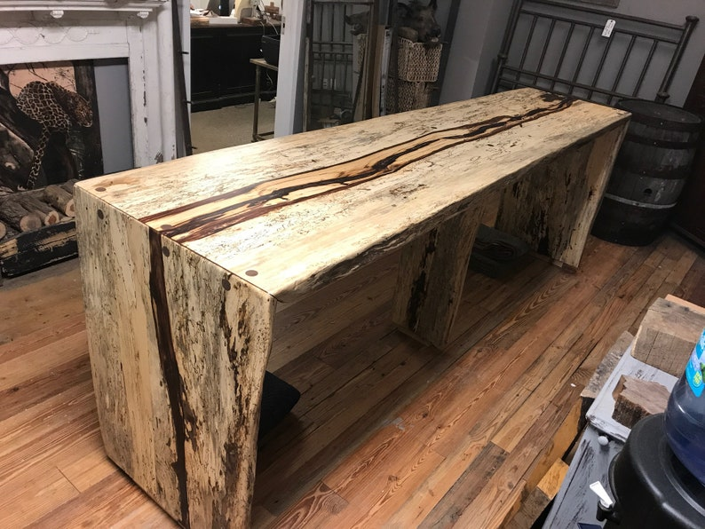 Spalted Tamarind Community Dining Table image 0