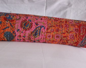 New Indian Kantha Bed Cover ,Throw, Sofa Cover, Quilt, Bedding, Coach Cover,