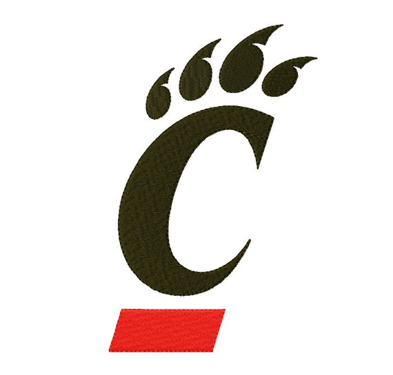 9 Sizes Cincinnati Bearcats Embroidery Designs Sport Logo Etsy