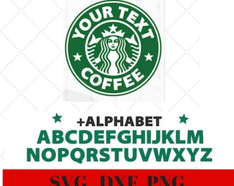 picture relating to Printable Starbucks Logos known as Starbucks brand Etsy