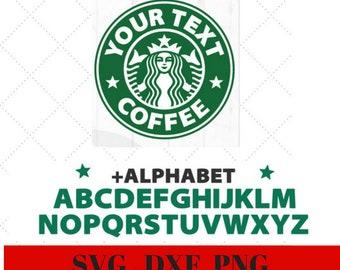 Starbucks Svg Etsy
