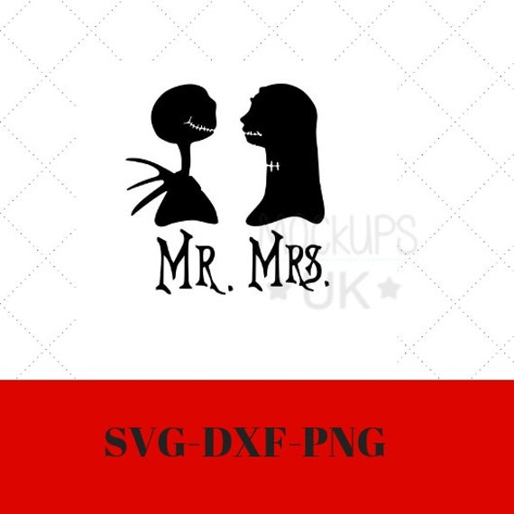 Nightmare Before Christmas Svg Nightmare Before Wedding Etsy