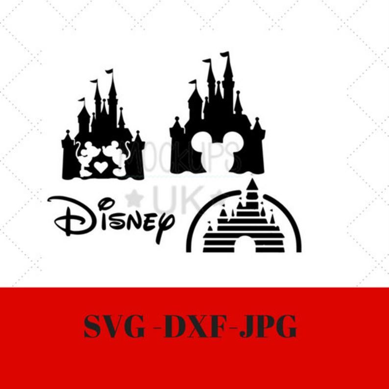 Disney Castle Svg Disney Castle Circut File Dxf Png Disney Vg Etsy