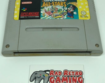 SNES Super Mario All Stars *AUS PAL* Vintage Cartridge