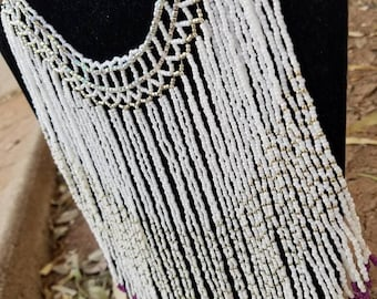 Traditional Beaded Wedding Necklace