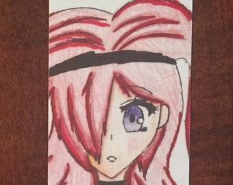 Lisa Shadow original anime bookmark