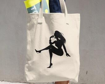 Cotton Tote Bag - Diva